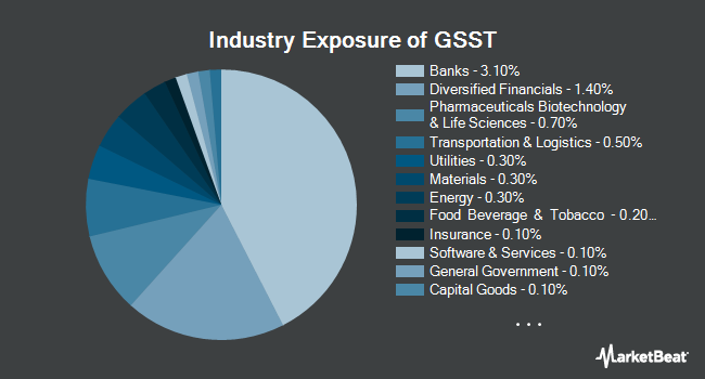 Industry Exposure of Goldman Sachs Access Ultra Short Bond ETF (BATS:GSST)