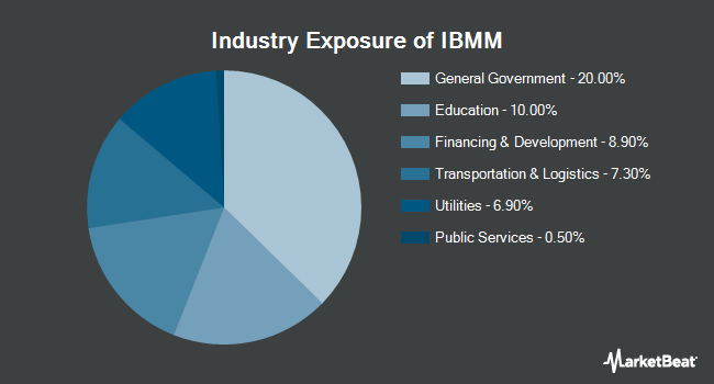 Industry Exposure of iShares iBonds Dec 2024 Term Muni Bond ETF (BATS:IBMM)