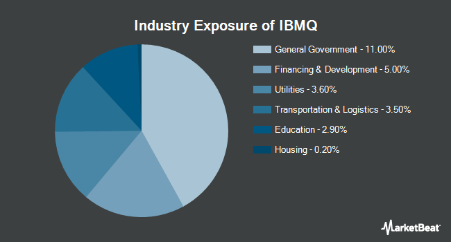 Industry Exposure of iShares iBonds Dec 2028 Term Muni Bond ETF (BATS:IBMQ)
