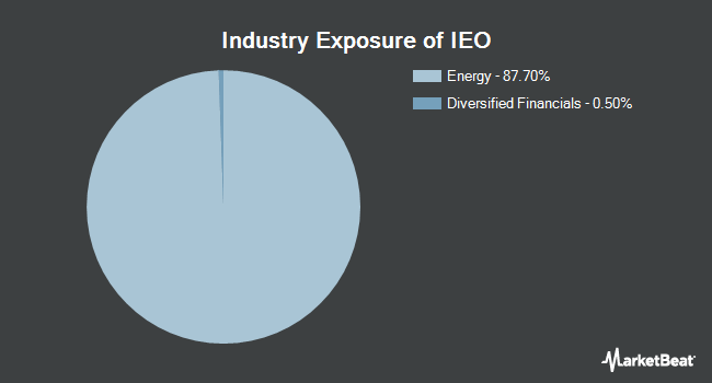 Industry Exposure of iShares U.S. Oil & Gas Exploration & Production ETF (BATS:IEO)