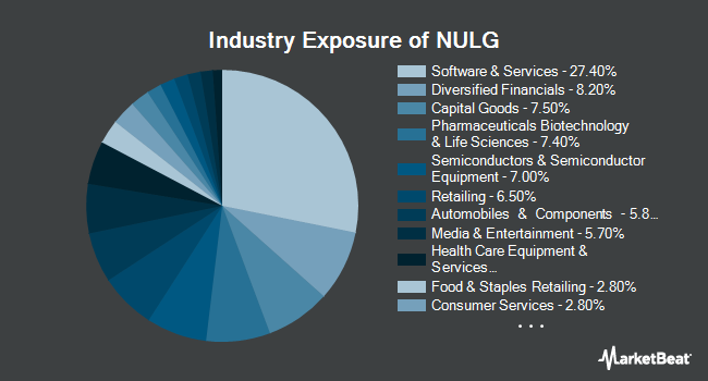 Industry Exposure of NuShares ESG Large-Cap Growth ETF (BATS:NULG)