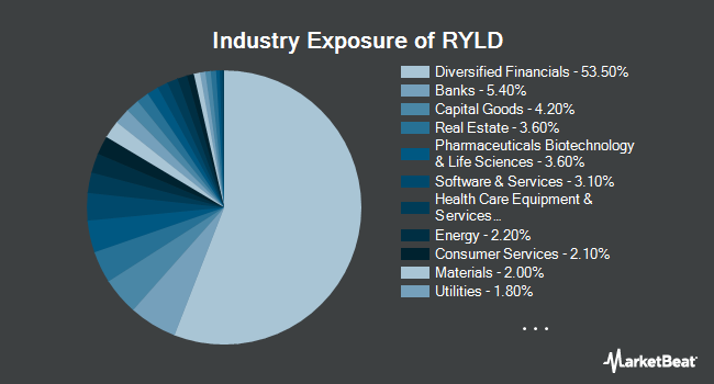 Industry Exposure of Global X Russell 2000 Covered Call ETF (BATS:RYLD)