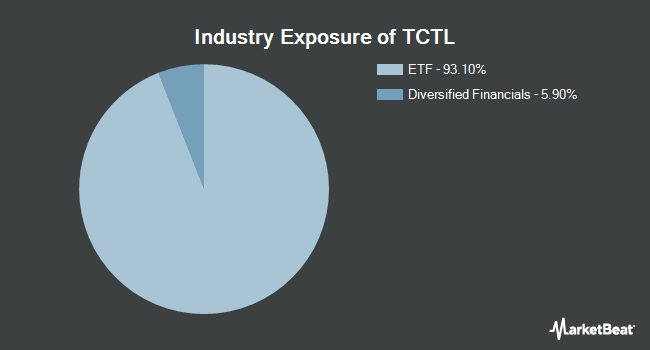 Industry Exposure of Premise Capital Diversified Tactical ETF (BATS:TCTL)