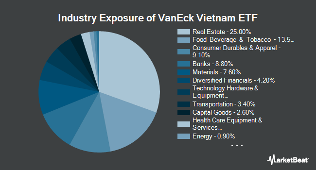 Industry Exposure of VanEck Vectors Vietnam ETF (BATS:VNM)