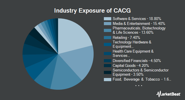 Industry Exposure of ClearBridge All Cap Growth ETF (NASDAQ:CACG)