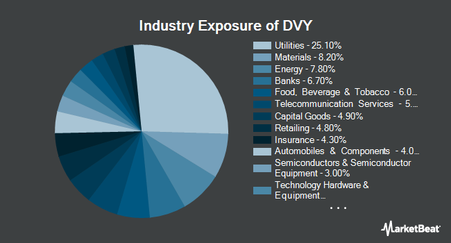 Industry Exposure of iShares Select Dividend ETF (NASDAQ:DVY)