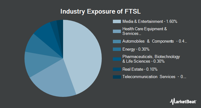 Industry Exposure of First Trust Senior Loan ETF (NASDAQ:FTSL)