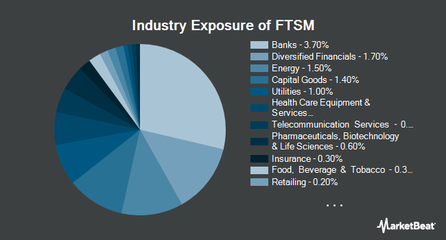 Industry Exposure of First Trust Enhanced Short Maturity ETF (NASDAQ:FTSM)