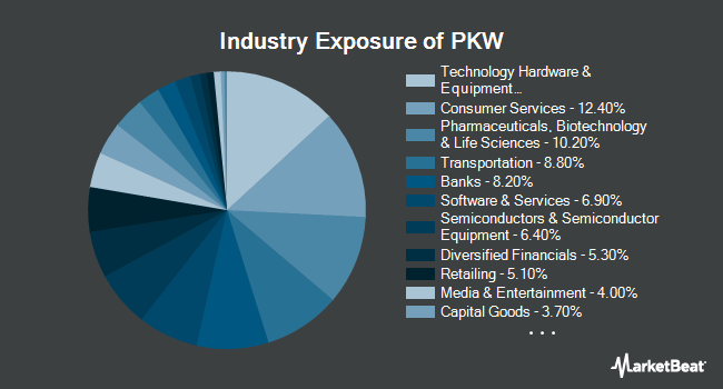 Industry Exposure of Invesco BuyBack Achievers ETF (NASDAQ:PKW)