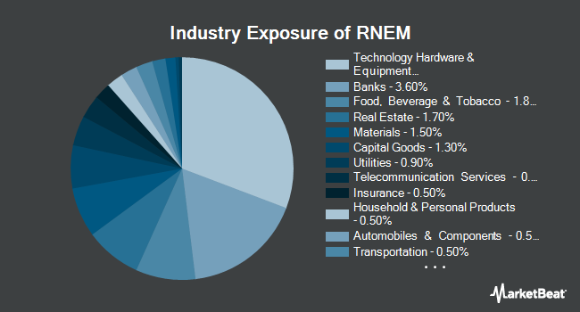Industry Exposure of Emerging Markets Equity Select ETF (NASDAQ:RNEM)