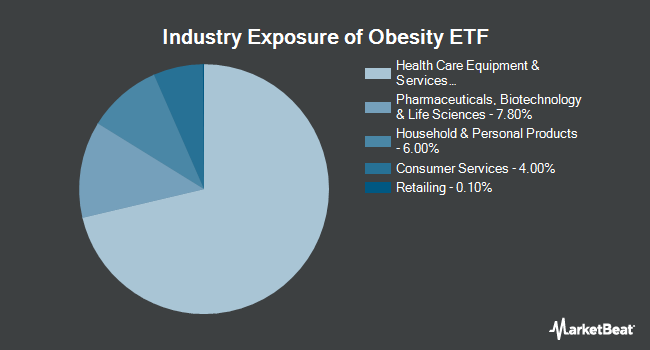Industry Exposure of The Obesity ETF (NASDAQ:SLIM)