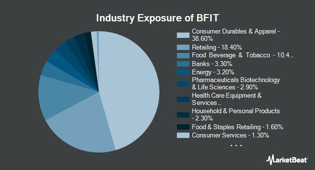 Industry Exposure of Global X Health & Wellness Thematic ETF (NYSEARCA:BFIT)