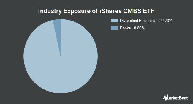 Industry Exposure of iShares CMBS ETF (NYSEARCA:CMBS)