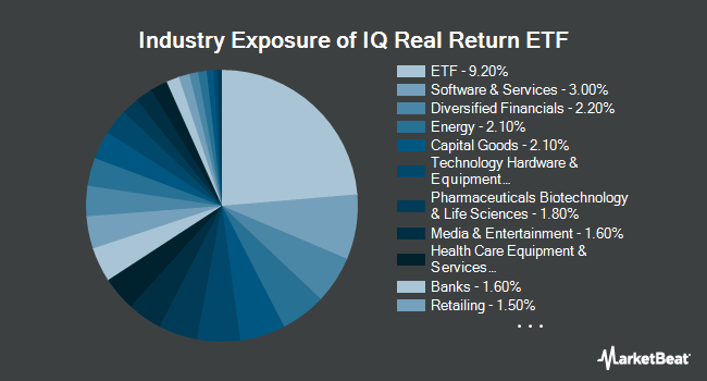 Industry Exposure of IQ Real Return ETF (NYSEARCA:CPI)