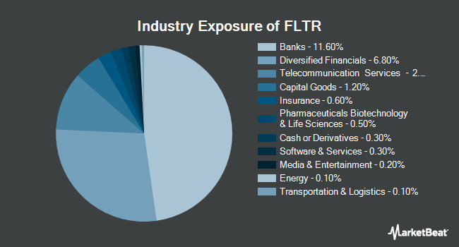 Industry Exposure of VanEck Vectors Investment Grade Floating Rate Bond ETF (NYSEARCA:FLTR)