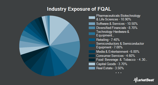 Industry Exposure of Fidelity Quality Factor ETF (NYSEARCA:FQAL)