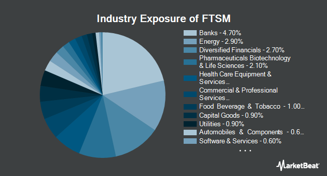 Industry Exposure of First Trust Enhanced Short Maturity ETF (NYSEARCA:FTSM)