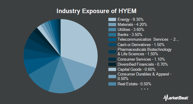Industry Exposure of VanEck Vectors Emerging High Yield Bond ETF (NYSEARCA:HYEM)