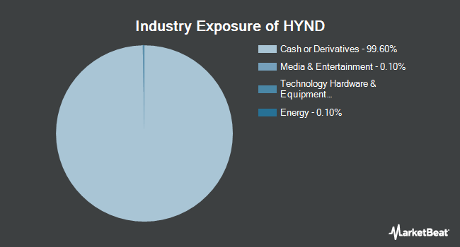 Industry Exposure of WisdomTree Negative Duration High Yield Bond Fund (NYSEARCA:HYND)