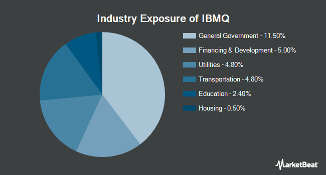 Industry Exposure of iShares iBonds Dec 2028 Term Muni Bond ETF (NYSEARCA:IBMQ)