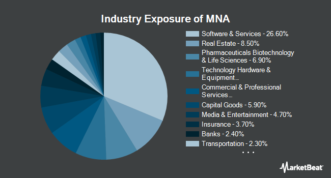 Industry Exposure of IQ Merger Arbitrage ETF (NYSEARCA:MNA)