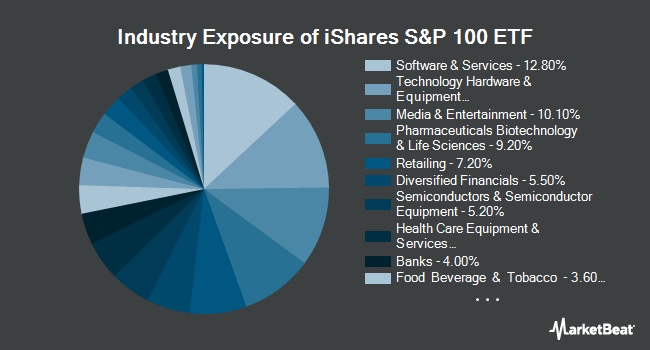 Industry Exposure of iShares S&P 100 ETF (NYSEARCA:OEF)