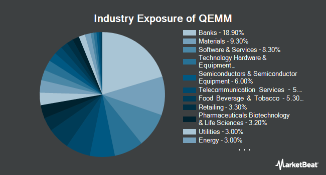 Industry Exposure of SPDR MSCI Emerging Markets StrategicFactors ETF (NYSEARCA:QEMM)