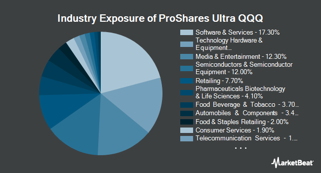 Industry Exposure of ProShares Ultra QQQ (NYSEARCA:QLD)
