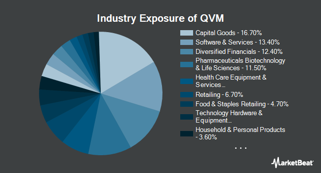 Industry Exposure of Arrow QVM Equity Factor ETF (NYSEARCA:QVM)