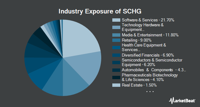 Industry Exposure of Schwab U.S. Large-Cap Growth ETF (NYSEARCA:SCHG)