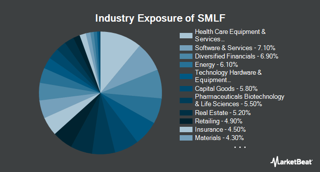 Industry Exposure of iShares Edge MSCI Multifactor USA Small-Cap ETF (NYSEARCA:SMLF)
