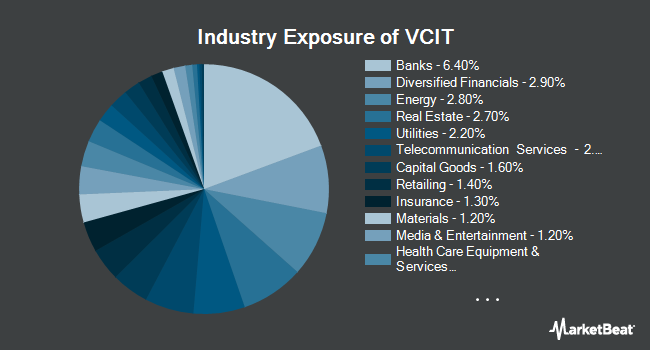 Industry Exposure of Vanguard Intermediate-Term Corporate Bond ETF (NYSEARCA:VCIT)