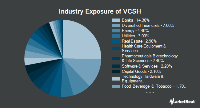 Industry Exposure of Vanguard Short-Term Corporate Bond ETF (NYSEARCA:VCSH)