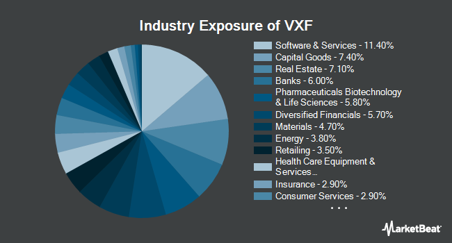 Industry Exposure of Vanguard Extended Market ETF (NYSEARCA:VXF)