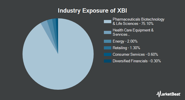 Industry Exposure of SPDR S&P Biotech ETF (NYSEARCA:XBI)