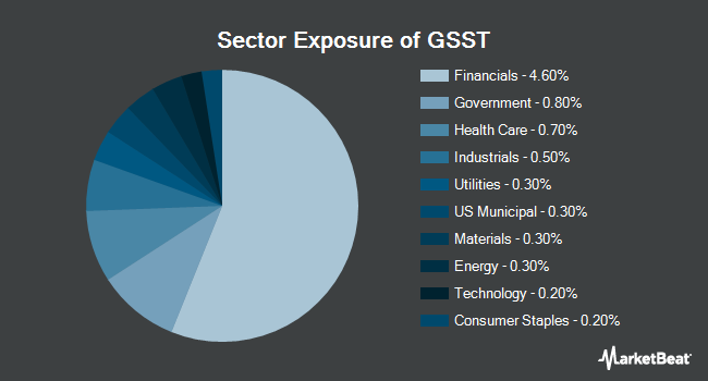 Sector Exposure of Goldman Sachs Access Ultra Short Bond ETF (BATS:GSST)