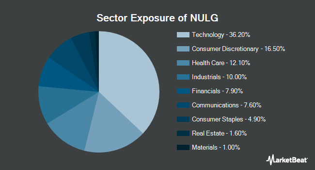 Sector Exposure of NuShares ESG Large-Cap Growth ETF (BATS:NULG)