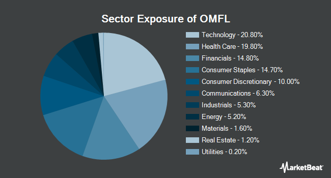 Sector Exposure of Invesco Russell 1000 Dynamic Multifactor ETF (BATS:OMFL)