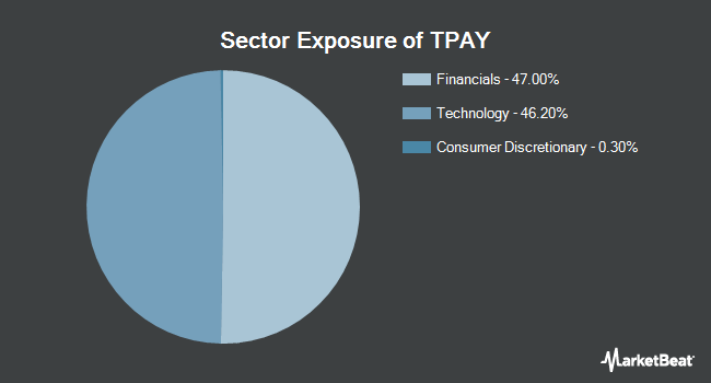 Sector Exposure of Tortoise Digital Payments Infrastructure Fund (BATS:TPAY)