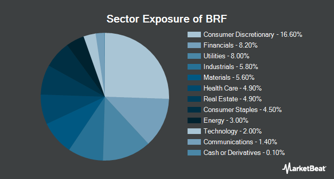 Sector Exposure of VanEck Vectors Brazil Small-Cap ETF (NYSEARCA:BRF)