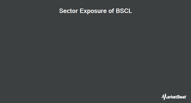 Sector Exposure of Invesco BulletShares 2021 Corporate Bond ETF (NYSEARCA:BSCL)