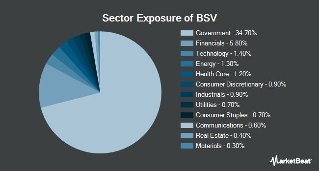 Sector Exposure of Vanguard Short-Term Bond ETF (NYSEARCA:BSV)