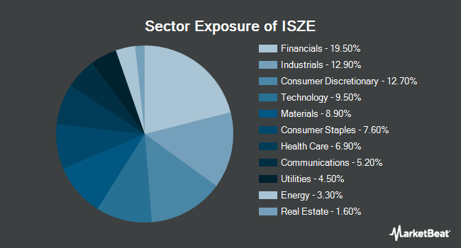 Sector Exposure of iShares Edge MSCI Intl Size Factor ETF (NYSEARCA:ISZE)