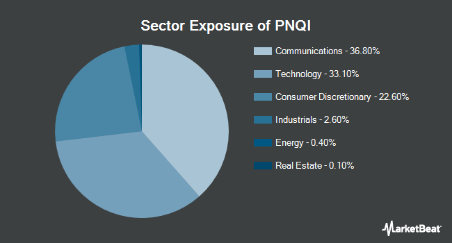 Sector Exposure of Invesco NASDAQ Internet ETF (NYSEARCA:PNQI)