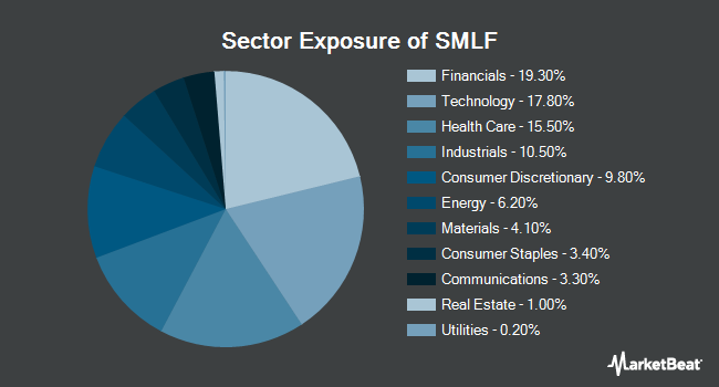 Sector Exposure of iShares Edge MSCI Multifactor USA Small-Cap ETF (NYSEARCA:SMLF)