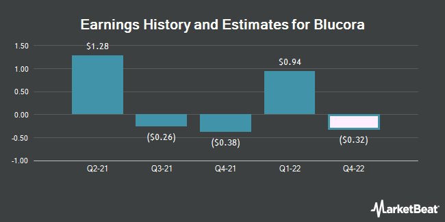 Earnings by Quarter for Blucora (NASDAQ:BCOR)