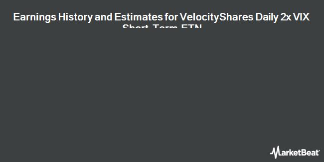 Earnings by Quarter for Credit Suisse AG - VelocityShares Daily 2x VIX Short Term ETN (NASDAQ:TVIX)