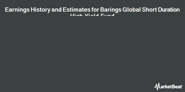Earnings by Quarter for Barings Global Short Duratin Hgh Yld Fnd (NYSE:BGH)