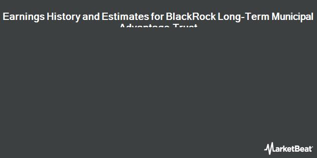 Earnings by Quarter for BlackRock LT Municipal Advantage Trust (NYSE:BTA)