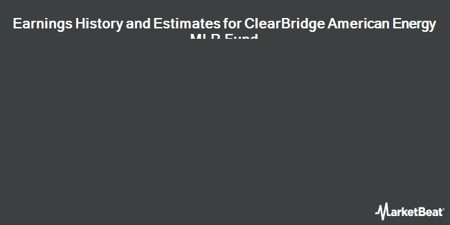 Earnings by Quarter for ClearBridge American Energy MLP Fund (NYSE:CBA)